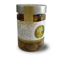 VIOS Organic Green Olives