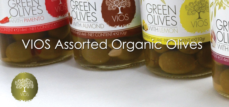 VIOS Assorted Olives