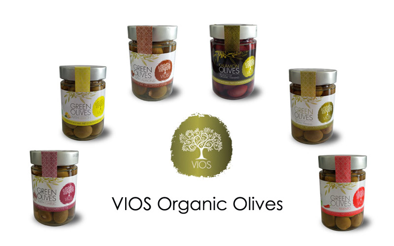 Vios Jarred Olives